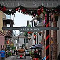 Christmas On Aviles Street by DigiArt Diaries by Vicky B Fuller