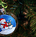 Christmas Ornament by LeeAnn McLaneGoetz McLaneGoetzStudioLLCcom