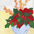 Christmas Poinsetta by Carol Lunsford
