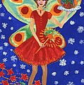 Christmas Pudding Fairy by Sushila Burgess