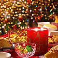 Christmas Table Set by Carlos Caetano