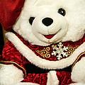 Christmas Teddy Bear by Nicole Couture-Lord