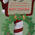 Christmas Traditions Cards 1 by Debra     Vatalaro