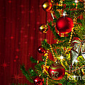 Christmas Tree Detail by Carlos Caetano