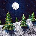 Christmas Trees II by Nancy Mueller
