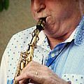 Christopher Mason Alto Sax Player by Lainie Wrightson