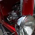 Chrome Engine Vintage Car by Blake Webster