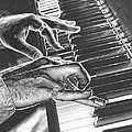 Chrome Piano Man by Michael Merry