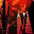 Chrysler Building - New York City Surreal by Vivienne Gucwa