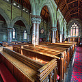 Church Benches by Adrian Evans