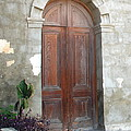 Church Door by Kathy Gibbons