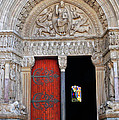 Church Entrance Arles France by Dave Mills