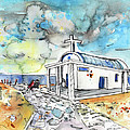 Church In Cape Gkreko In Cyprus by Miki De Goodaboom