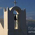 Church In Fira On Santorini  by Bob Christopher