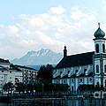 Church In Lucerne by Pravine Chester