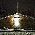 Church In The Snow by Guy Ricketts