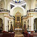 Church Interior In Puerto Vallarta by Elena Elisseeva