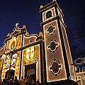 Church Lighting At Night by Gaspar Avila