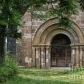 Church Of Bredons.cantal. France by Bernard Jaubert