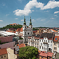 Church Of St Michael, Spilberk Castle And The Town by Maremagnum
