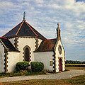 Church Off The Brittany Coast by Dave Mills