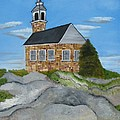 Church On Star Island by Suzanne Buckland