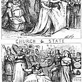 Church/state Cartoon, 1870 by Granger