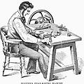 Cigar-making Machine, 1859 by Granger