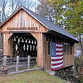 Cilleyville Covered Bridge by Wayne Toutaint