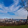 Cincinnati From Kentucky by Randall Branham