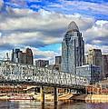Cincinnati Skyline 2012 by Jeremy Lankford