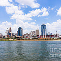 Cincinnati Skyline And Downtown City Buildings by Paul Velgos