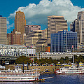 Cincinnati Tall Stacks  by Randall Branham