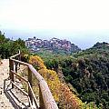 Cinqre Terre Corniglia From The Trail by Marilyn Dunlap