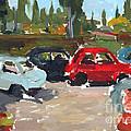 Cinque Cento Rally Radicofani  by William Noonan