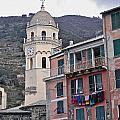 Cinque Terre Iv by David Ritsema