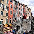 Cinque Terre Vi by David Ritsema