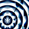 Circle Flower - Macro 1 by Christopher Gaston