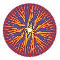 Circle Study No. 74 by Alan Bennington