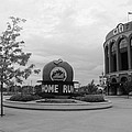 Citi Field In Black And White by Rob Hans