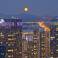 City And Moon by Tokism
