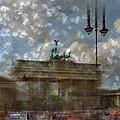 City-art Berlin Brandenburger Tor II by Melanie Viola