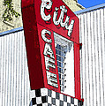 City Cafe by David Lee Thompson