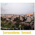 City Lights   Jerusalem Israel by John Shiron