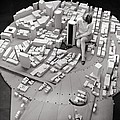 City Model Of Sydney, 1969 by National Physical Laboratory (c) Crown Copyright