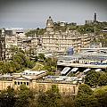 City Of Edinburgh by Ray Devlin