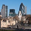 City Of London by Andrew  Michael