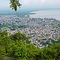 City Of Port Of Spain Trinidad 3 by Karin  Dawn Kelshall- Best