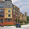 City Street Intersection by Susan Leggett
