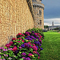 City Wall Vannes France by Dave Mills